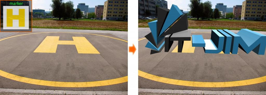 AR tracking with different markers fig5