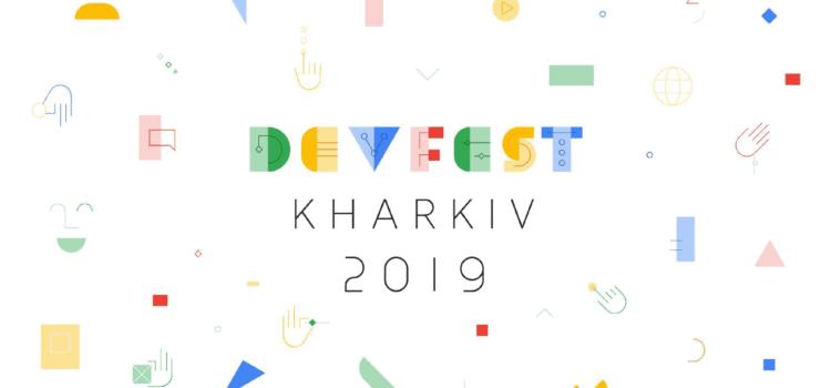 GDG DevFest Kharkiv – 2019