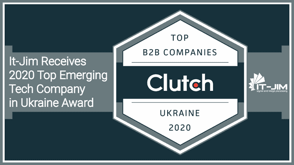 Clutch Recognizes It-Jim as a 2020 Top B2B Company in Ukraine