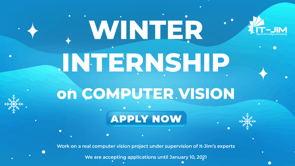 Winter Internship on Computer Vision: Time to Become a CV Engineer