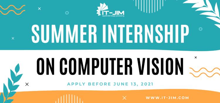 Summer Internship on CV @It-Jim
